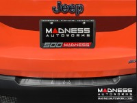 Jeep Renegade Rear Bumper Sill Cover - Brushed Stainless Steel