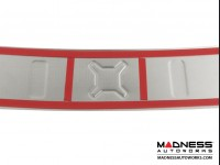 Jeep Renegade Rear Bumper Sill Cover - Polished Stainless Steel