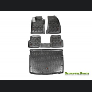 Jeep Renegade Floor Liner + Cargo Liner Set - All Weather - Rugged Ridge
