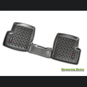 Jeep Renegade Floor Liners - All Weather - Rugged Ridge - Rear Only