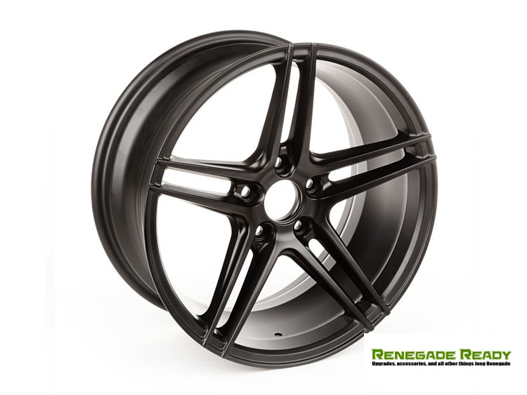 Jeep Renegade Custom Wheels - Rugged Ridge - Black - 17x8 - Aluminum - TREK 5