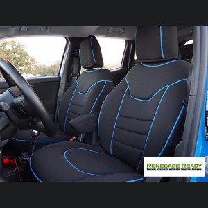 Jeep Renegade Seat Covers - Front Seats - Custom Neoprene Design