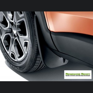 Jeep Renegade Molded Splash Guards - Front