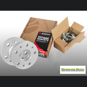 Jeep Renegade Wheel Spacers - 20mm - Athena - w/ bolts