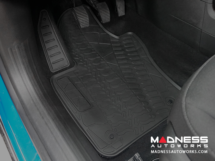 Jeep Renegade Floor Mats - All Weather Rubber - Premium