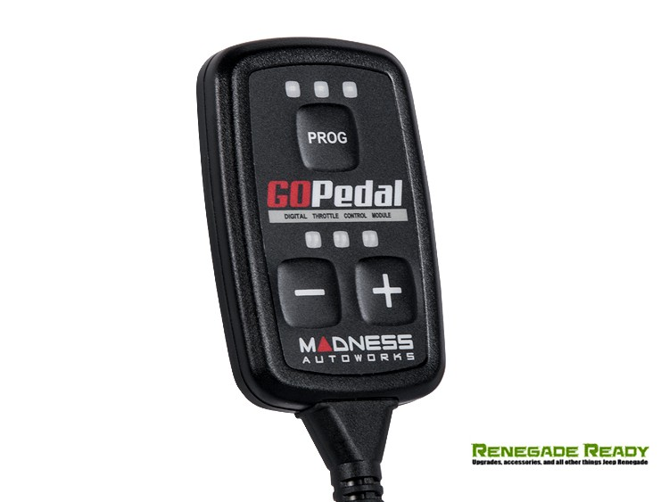 Jeep Renegade Throttle Controller - MADNESS GOPedal - 2.0L Diesel EU Model