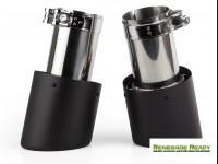 """Custom Carbon Fiber Exhaust Tips - Carbon Fiber -  2.75"""" ID"""