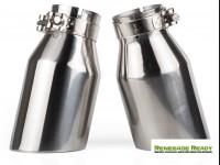 "Custom Exhaust Tips - Stainless Steel -  2.75"" ID"