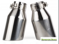 "Custom Exhaust Tips - Stainless Steel -  2.75"" ID"