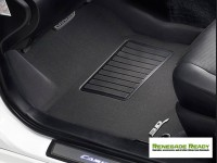Jeep Renegade Floor Mats - 3D MAXpider - Front - Black (Set of 2)