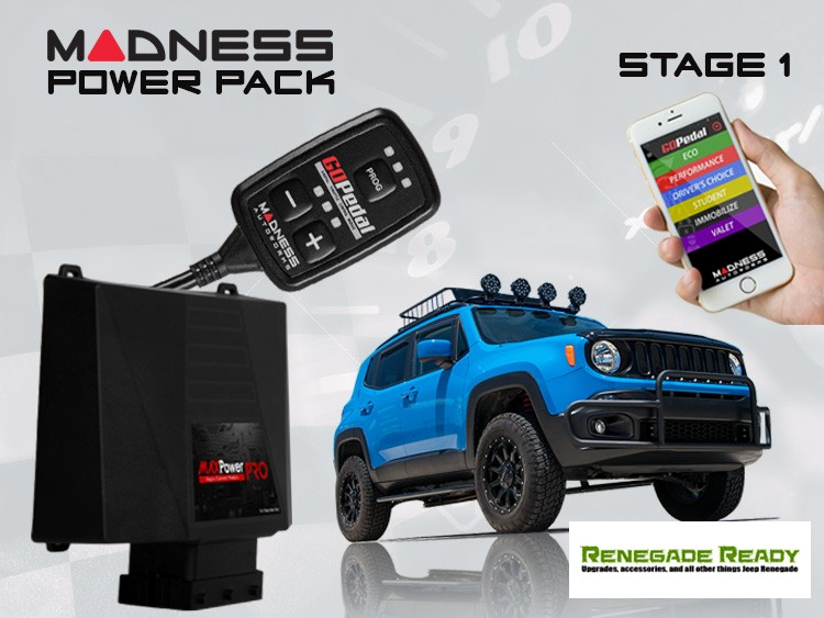 Jeep Renegade Power Pack - 1.3L Turbo - Stage 1