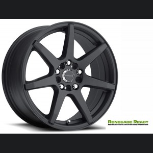 "Jeep Renegade Custom Wheels - Raceline - 131 - 17""x7.5"" - EVO Black"