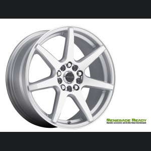 "Jeep Renegade Custom Wheels - Raceline - 131 - 16""x7"" - EVO Silver"