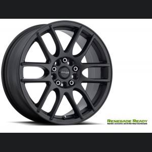 "Jeep Renegade Custom Wheels - Raceline - 141 - 16""x7"" - Mystique Black"