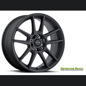 "Jeep Renegade Custom Wheels - Raceline - 142 - 17""x7.5"" - Rebel Black"