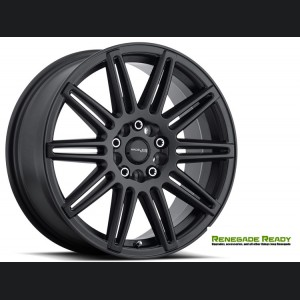 "Jeep Renegade Custom Wheels - Raceline - 143 - 17""x7.5"" - Cobalt Black"