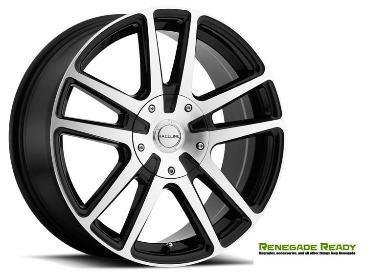 "Jeep Renegade Custom Wheels - Raceline - 145M - 17""x7.5"" - Encore"