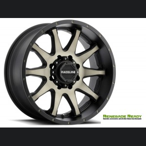 "Jeep Renegade Custom Wheels - Raceline - 930DM - 18""x8"" - Shift Dark Tint"