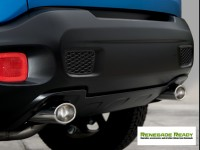 Jeep Renegade Performance Exhaust - Ragazzon - Top Line - Dual Exit / Dual Oval Tip