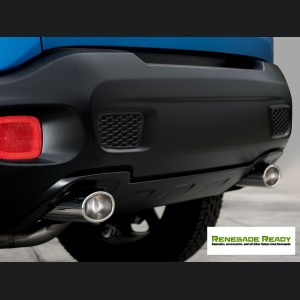 Jeep Renegade Performance Exhaust by Ragazzon - Top Line - Dual Exit / Dual Oval Tip
