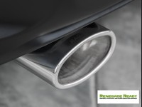 Jeep Renegade Performance Exhaust - Ragazzon - Top Line - Dual Exit / Dual Oval Tip - 4WD