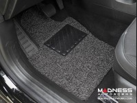Jeep Renegade All Weather Floor Mats + Cargo Mat - Custom Rubber Woven Carpet - Black + Grey