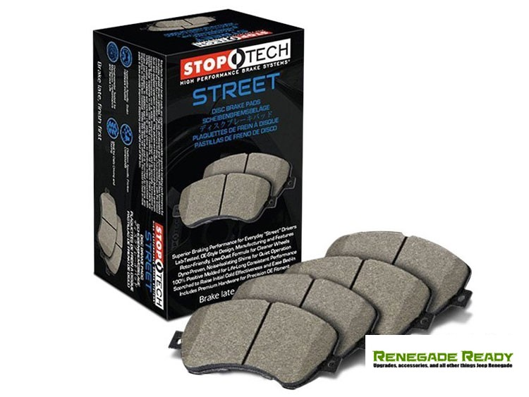 Jeep Renegade Brake Pads - StopTech Street - Rear