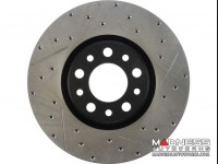 Jeep Renegade Performance Brake Rotor - StopTech - Drilled + Slotted - Rear Right