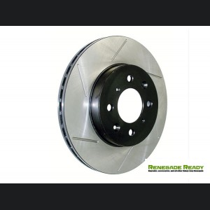 Jeep Renegade Performance Brake Rotor - StopTech - Slotted - Front Left