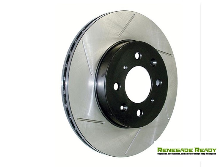 Jeep Renegade Performance Brake Rotor - Slotted - Rear Left