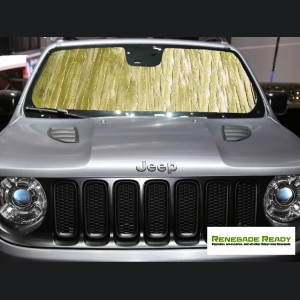 Jeep Renegade Windshield Reflector - Intro-Tech - Gold