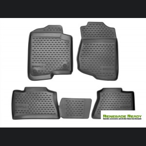 Jeep Renegade Floor Liners - All Weather - Westin - Front + Rear Set