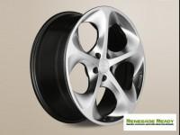 "Jeep Renegade Custom Wheels - Phantom 19x8"" - Hyper Silver/ Hyper Black"