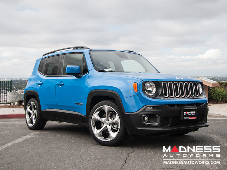 "Jeep Renegade Custom Wheels - Phantom 19x8"" - Hyper Silver/ Hyper Black"